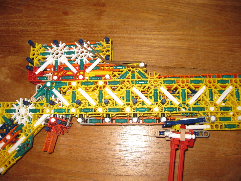 Knex Slide Loading Rifle