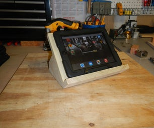 How to Make a Cheap IPad Stand
