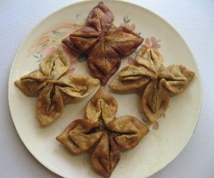 How to Make Flower Shaped Samosa