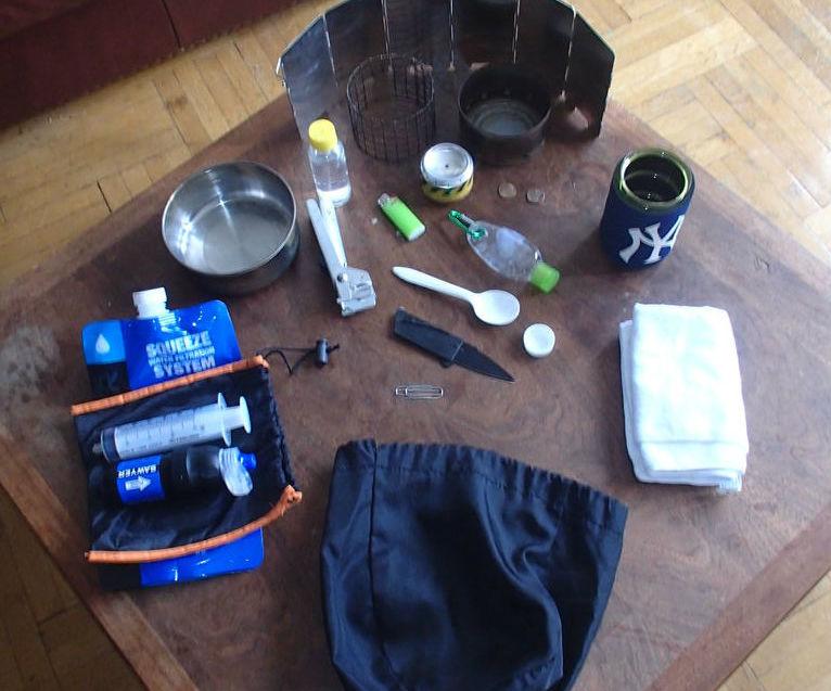UL Backpacking Kitchen