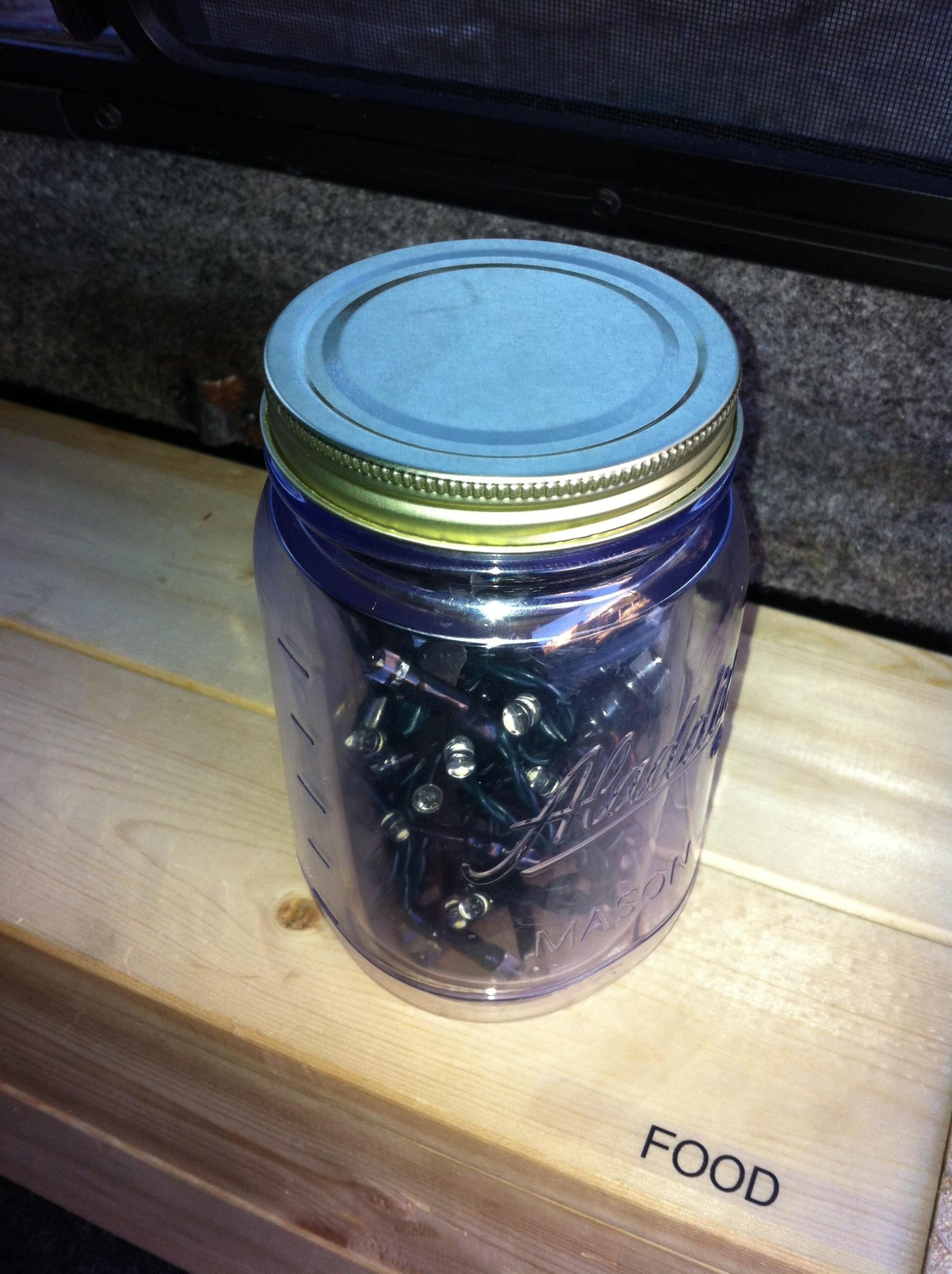 Jar of (LED) Lights, The Mobile Lantern