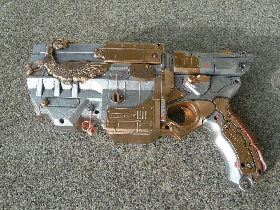 Steampunk Nerf Vigilon Mod