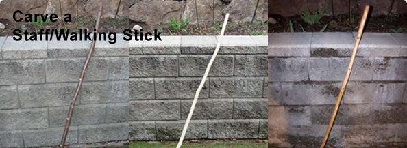 Carve a Staff / Walking Stick
