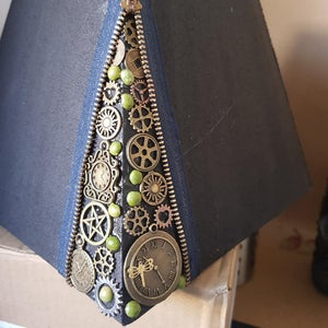Add the Zipper to the Lampshade