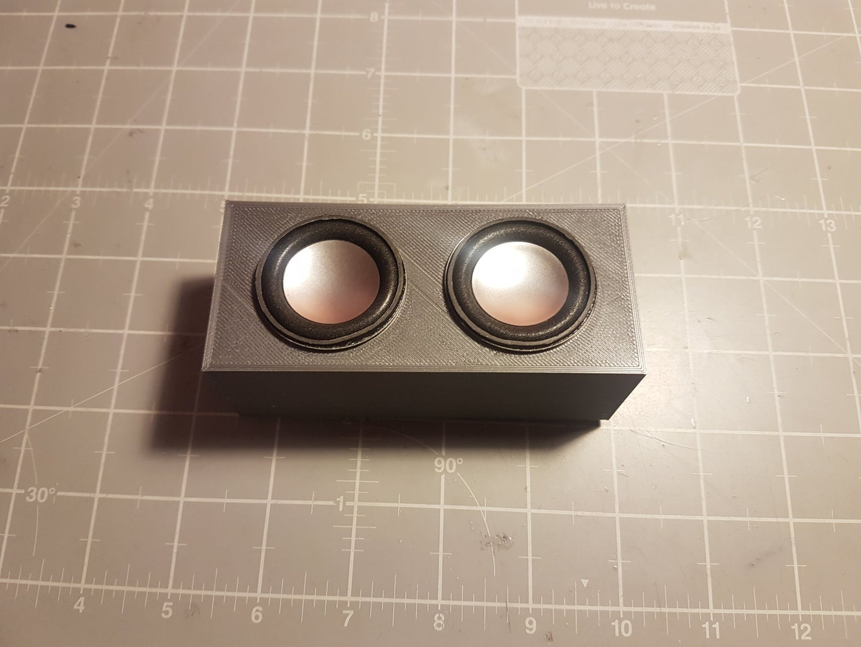 3D Printed Mini Bluetooth Speaker