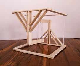 Popsicle Tensegrity Toy