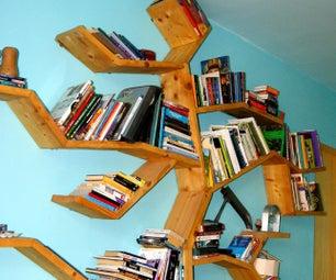 Tree of Knowledge, Scaffold Board Bookcase