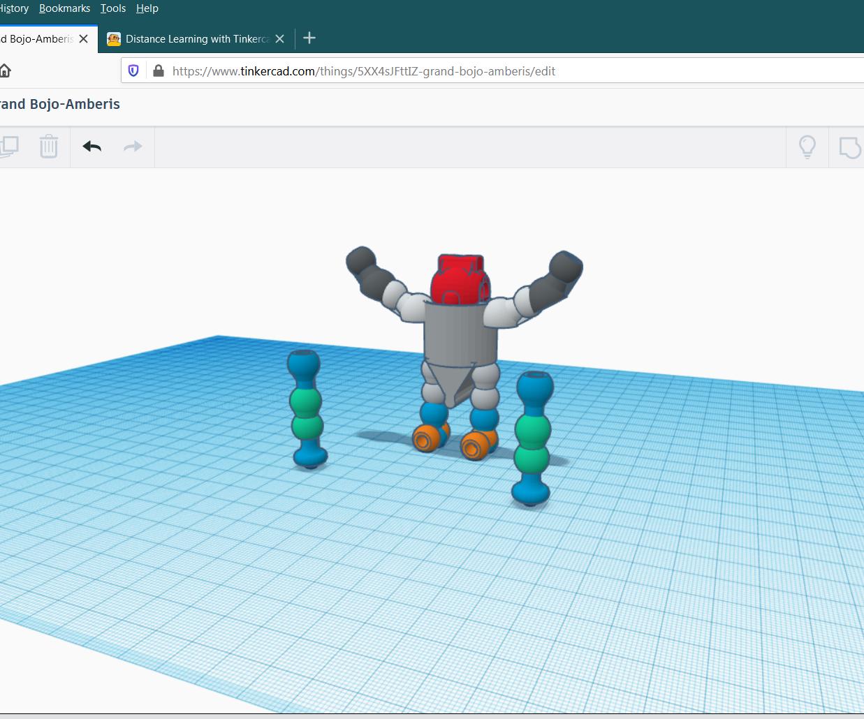 Tinkercad Contest Connectors~humanoid_figure