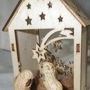 Peanut Nativity Scene
