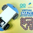 Virtual Maze Solver Robot
