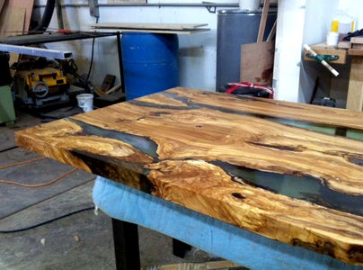 Olive Wood and Resin Bar