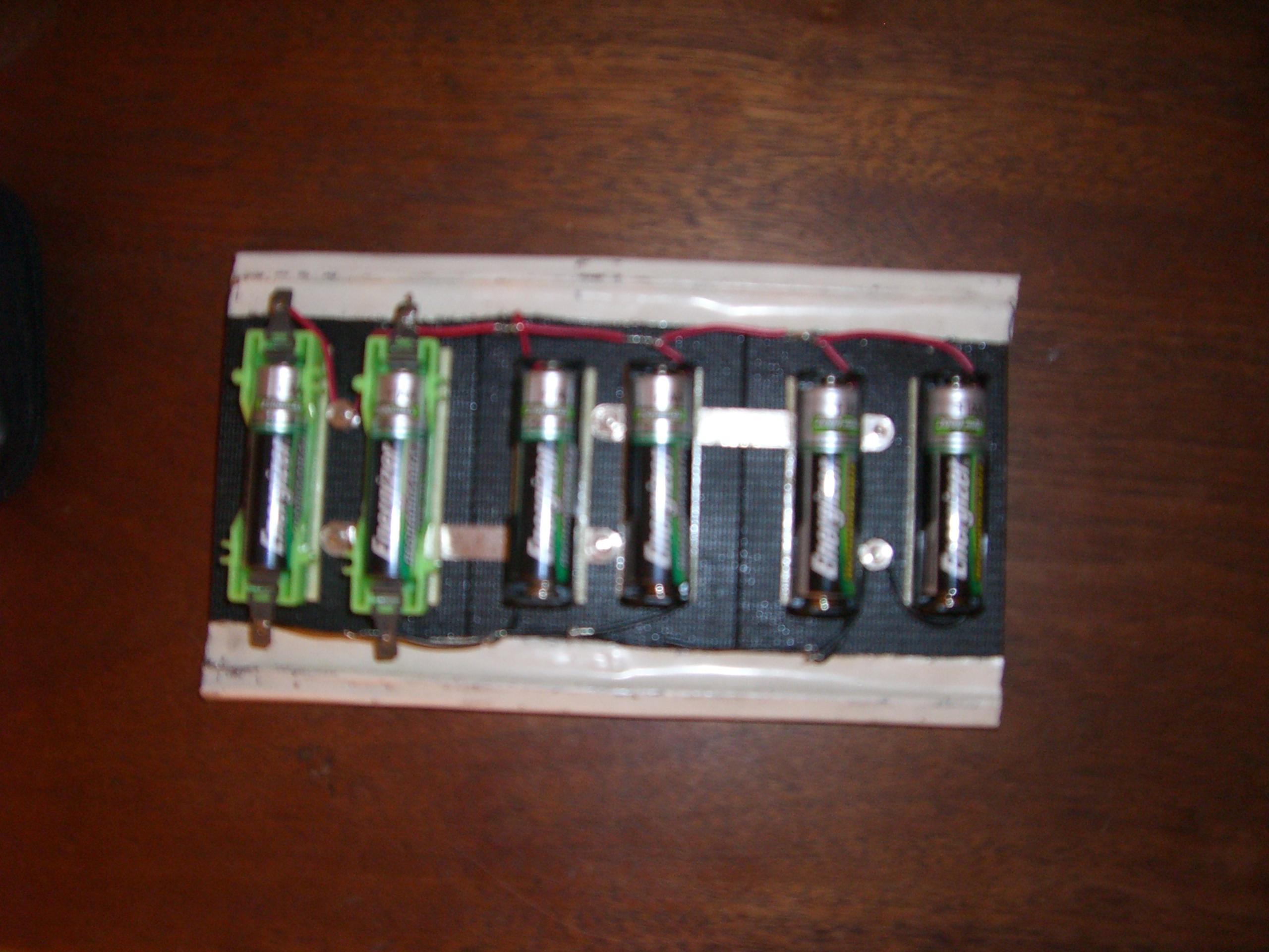 Solar AA (NiMH) Battery charger