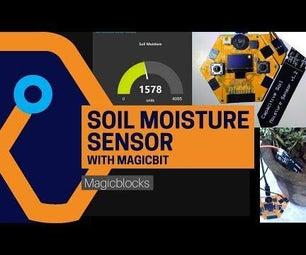 Use Soil Moisture Sensor With Magicbit [Magicblocks]