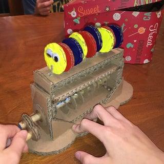 Cardboard Mechanical Toy