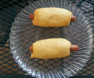 Crescent Campfire Cheese Dogs