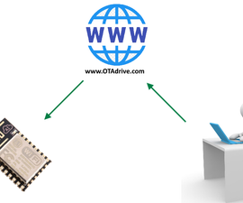 Use ESP8266 OTA Without Setup Own Server
