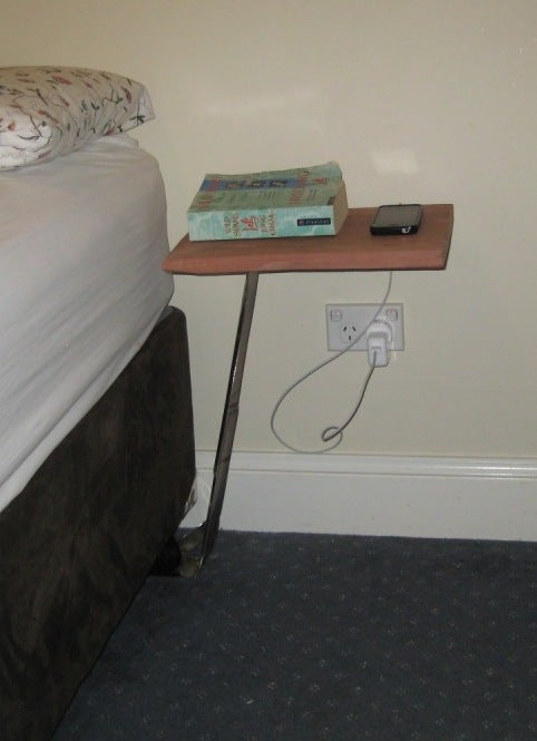 How to Make a Floating Bedside Table