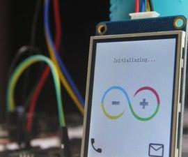 Lightweight Arduino GSM Mobile Phone