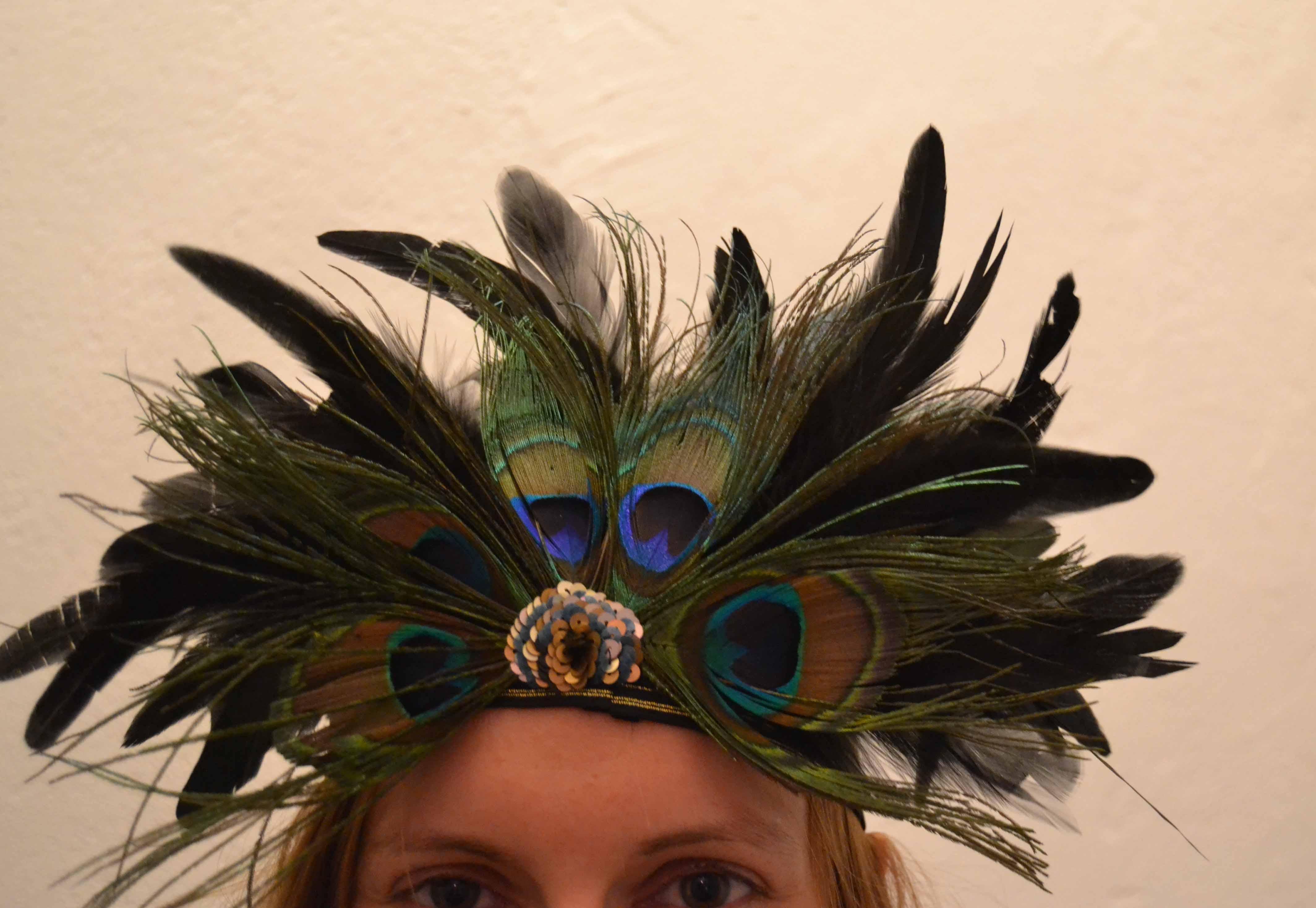 a 20's style headband
