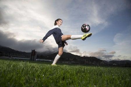 Juggle a Soccer Ball