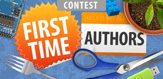 First Time Authors Contest 2016