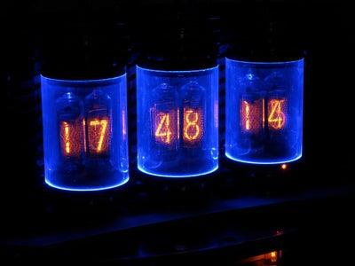 Lamina Nixie Clock