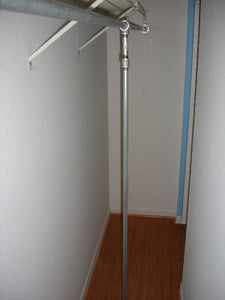 Install the Vertical Support Bar