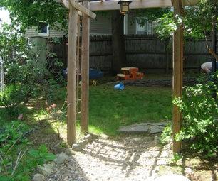 Home-built Garden Arbor