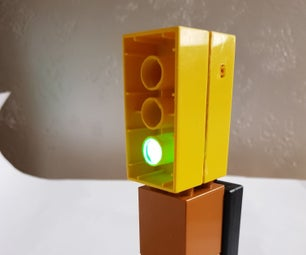 Toy Traffic Light With Arduino Nano
