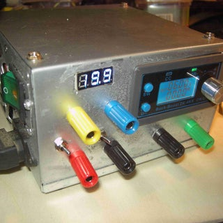 Laboratory Power Supply From Old ATX