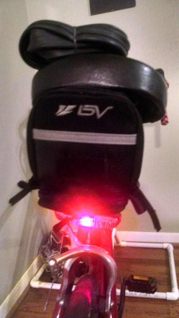 Biking: Bike Upgrades Lights/storage