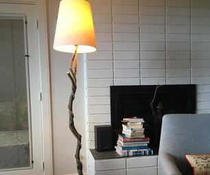 planted lamp
