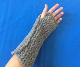 Easy Knit Arm Warmers