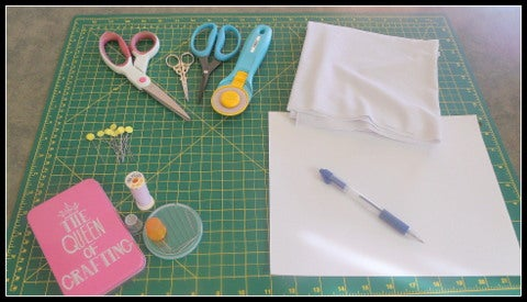 Gathering Materials - Making Your Pattern