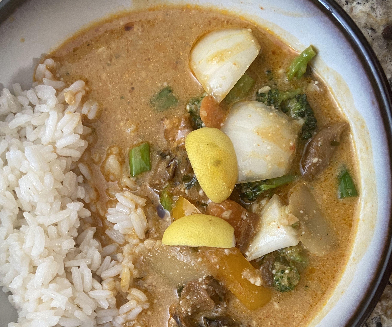 Best Thai Mushroom Coconut Curry Soup