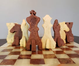 The Baker's Gambit  – a 3D Sugar Cookie Chess Set