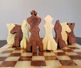 The Baker's Gambit  – a 3D Sugar Cookie Chess Set
