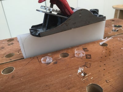 Fitting the Chopping Board