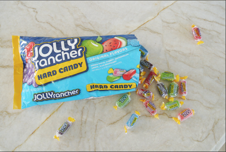 Unwrap and Melt Jolly Ranchers