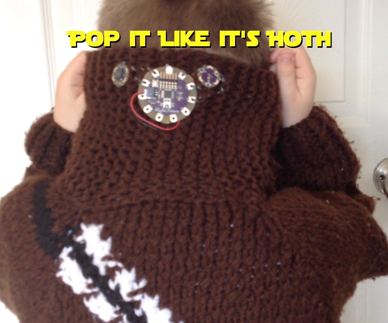 Light Sensor Star Wars Coat (Pop It Like It's Hoth)