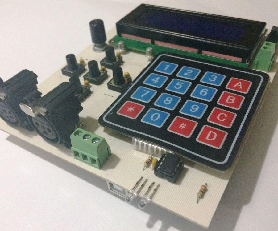 Arduino DMX 512 Tester and Controller ENG