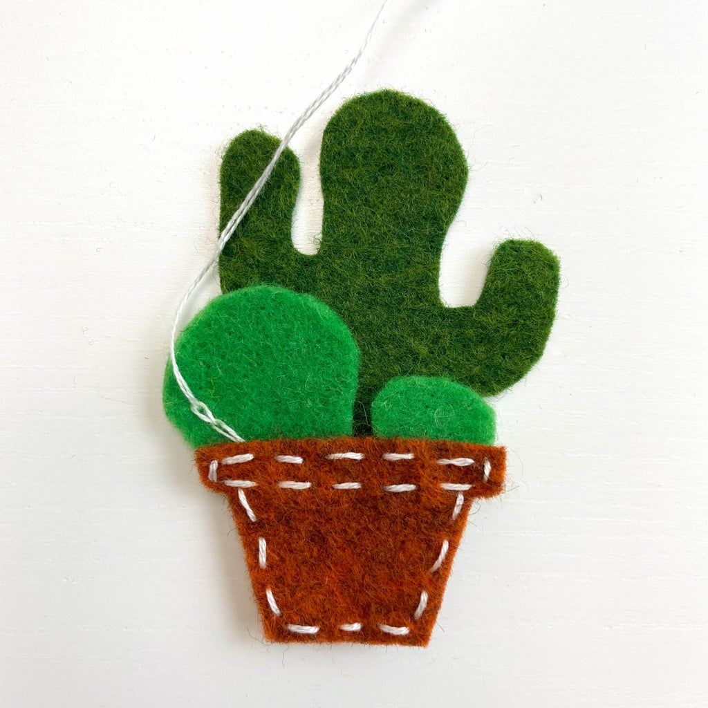 Decorate Plants With a Few Embroidery Stitches and Knots