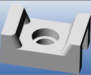 3D CAD - Modeling Basic Mechanical Components #1 - Tie-Wrap Clip