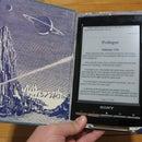 eReader Hollow Book Case with Stylus Storage