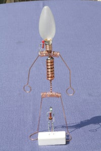 The Illuminated LED Man V2: the Big Brother