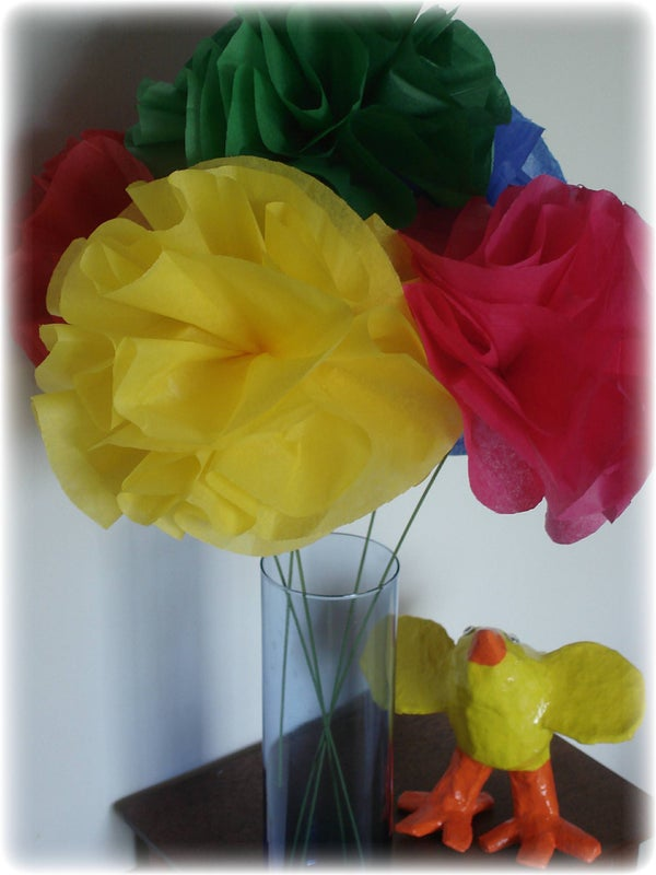 Make Cheap and Cheerful Paper Flowers in 30 Minutes to Celebrate Cinquo De Mayo!