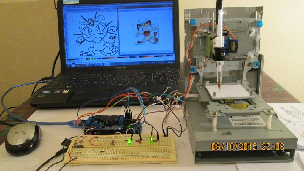 How to make Arduino Based Mini CNC Machine A complete tutorial