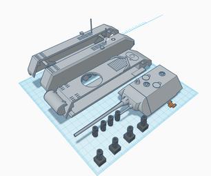 Panzer VIII Maus Driven by Microbit