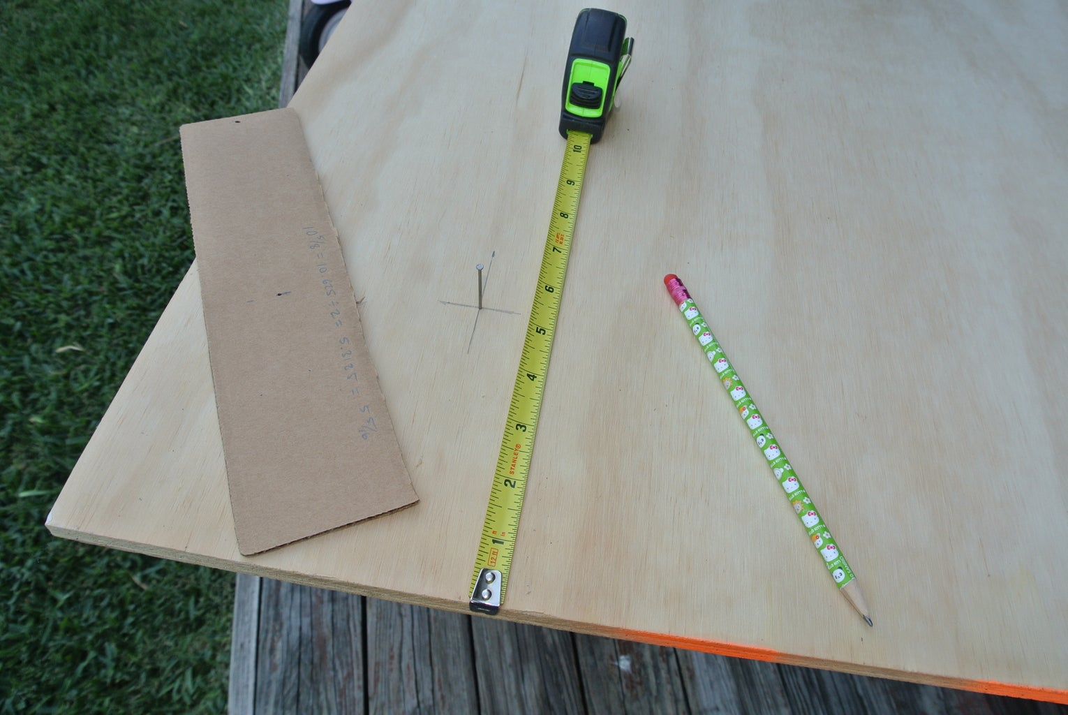 When Plywood and Math Collide
