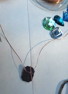Choose a Gem and Wrap Wire Around It...
